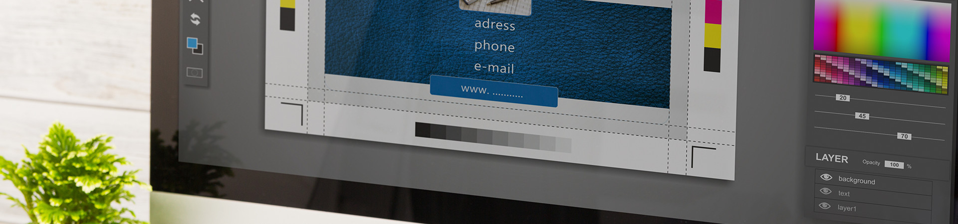 デザインから印刷までまるっとおまかせください!印刷 看板 データ入出力 オリジナルグッズ