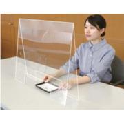 飛沫防止透明パーテーション(窓あきタイプ)